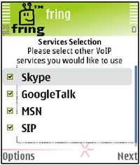 Fring other SIP settings 1